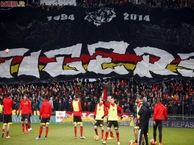 Red Tigers anniversaire tifo