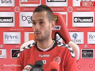 Stade de Reims Gregory Bourillon