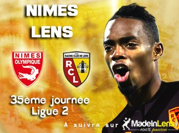 35 Nimes Olympique RC Lens