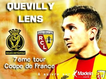 Coupe de France 7e tour US Quevilly RC Lens