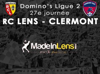 27 RC Lens Clermont Foot