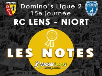 15 RC Lens Chamois Niortais Niort notes