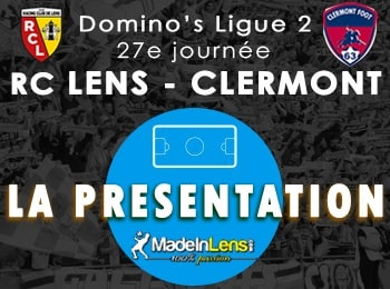 27 RC Lens Clermont Foot presentation