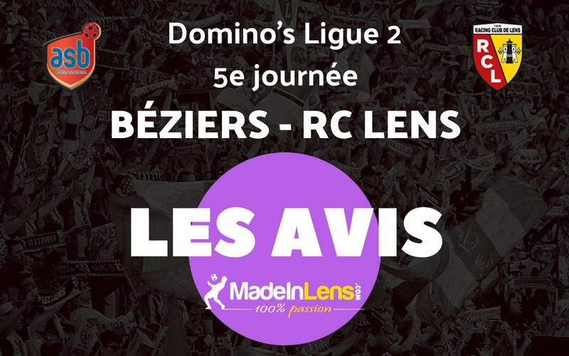 05 AS Beziers RC Lens Avis