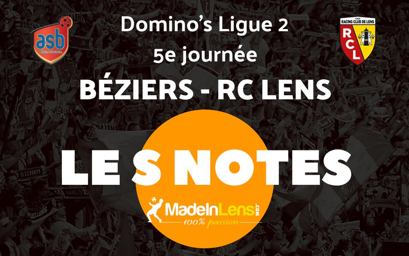 05 AS Beziers RC Lens Notes