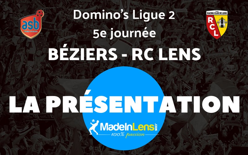 05 AS Beziers RC Lens Presentation