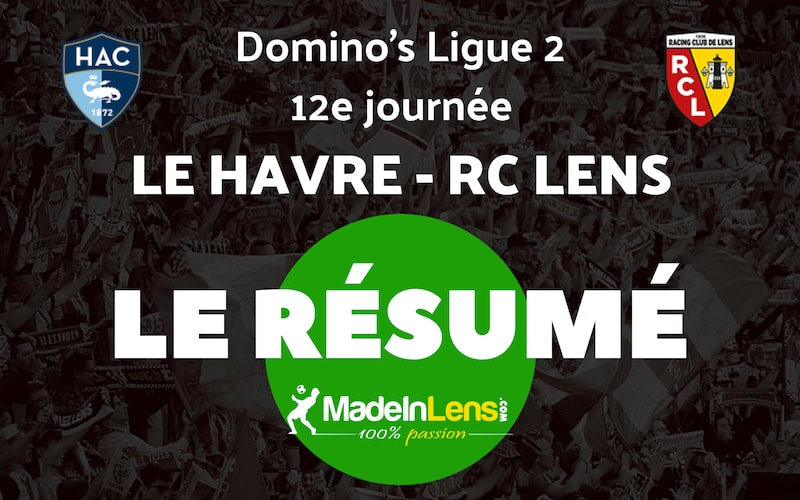 12 Le Havre RC Lens Resume