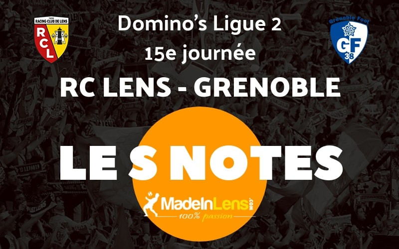 15 RC Lens Grenoble Notes