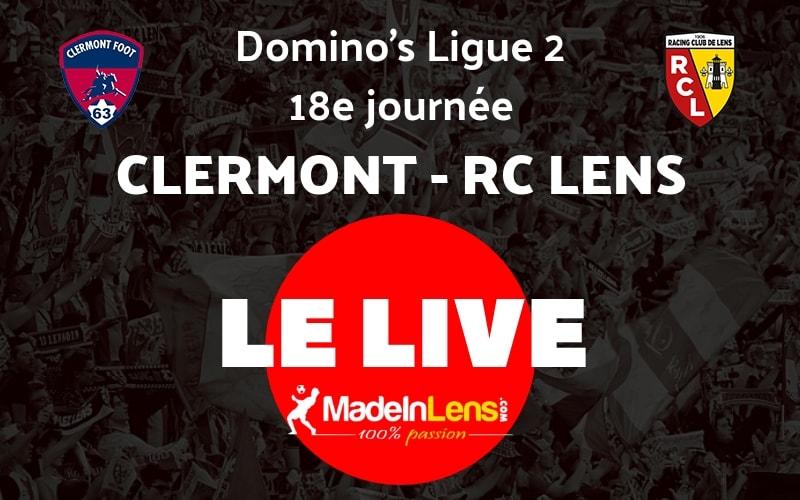 18 Clermont RC Lens Live