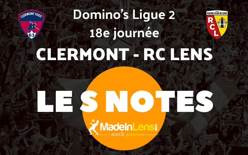 18 Clermont RC Lens Notes