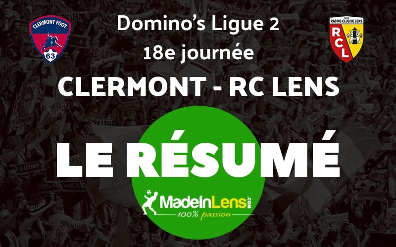 18 Clermont RC Lens Resume