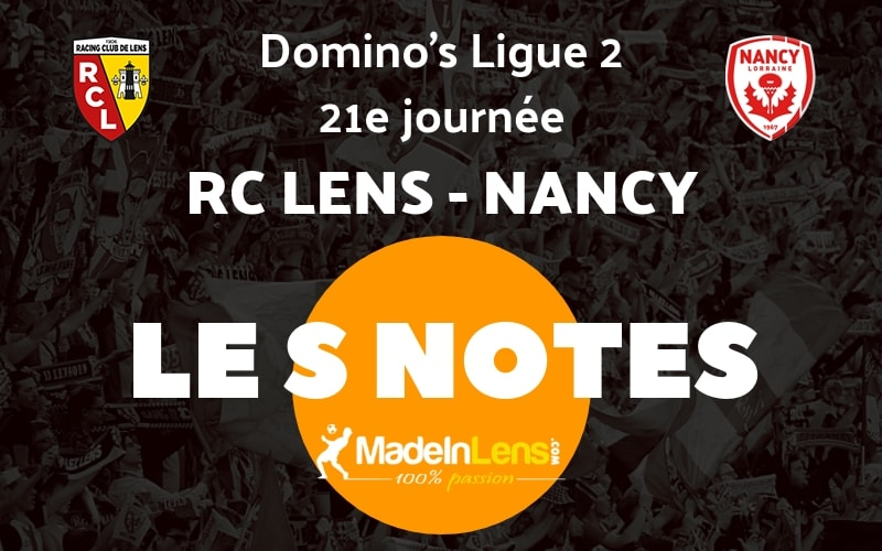 20 RC Lens Nancy Notes