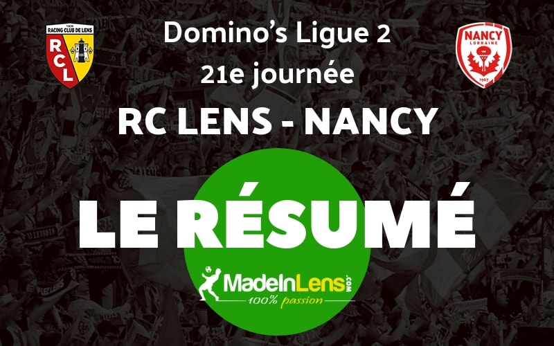 21 RC Lens AS Nancy Lorraine Resume