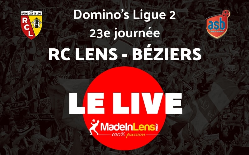 23 RC Lens AS Beziers Live