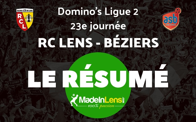 23 RC Lens AS Beziers Resume