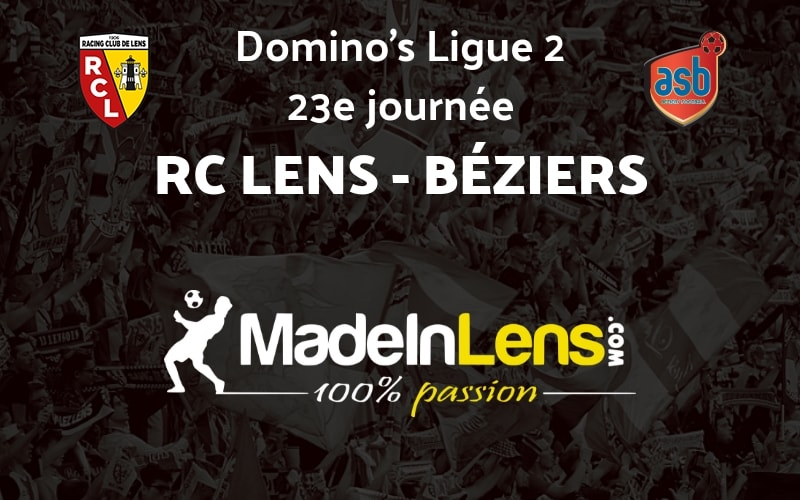 23 RC Lens AS Beziers