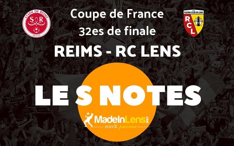 CDF 32es Reims RC Lens Notes