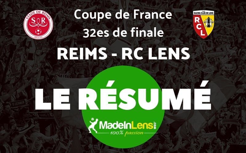 CDF 32es Reims RC Lens Resume