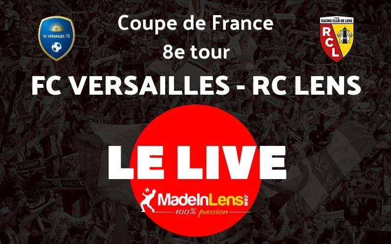 CDF 8e FC Versailles RC Lens Live
