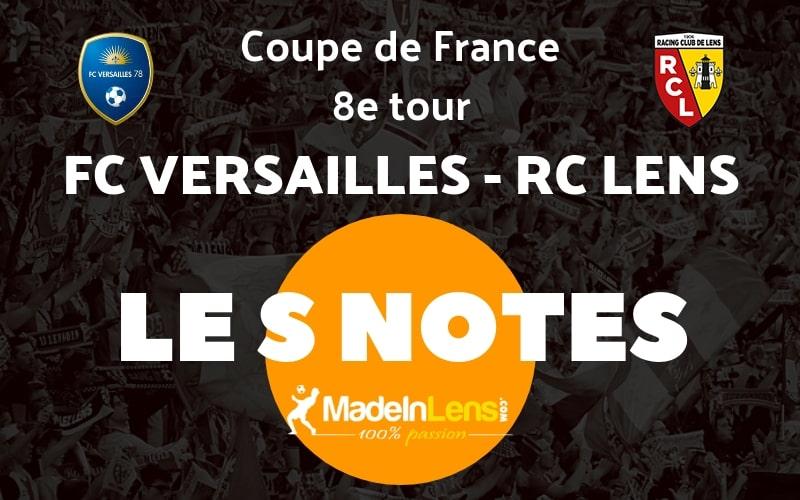 CDF 8e FC Versailles RC Lens Notes