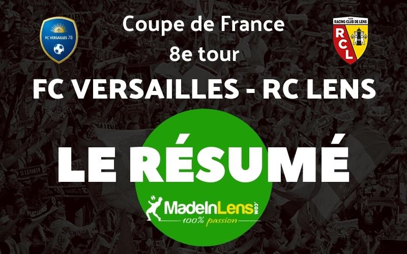 CDF 8e FC Versailles RC Lens Resume