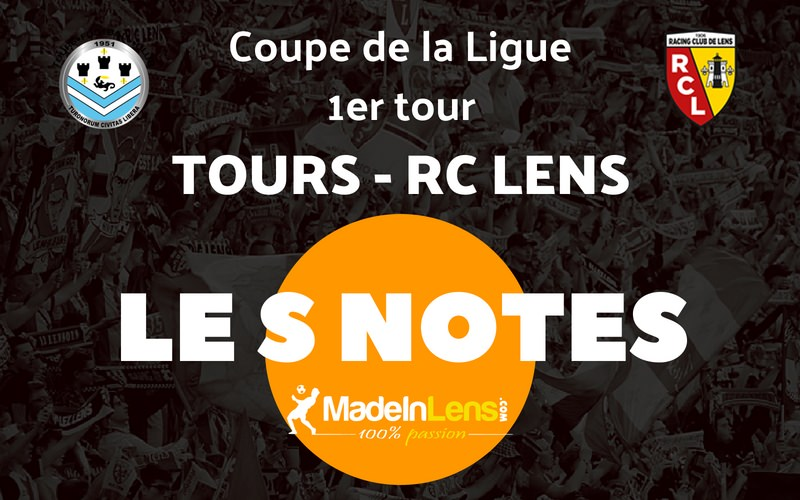 CDL 01 Tours FC RC Lens Notes