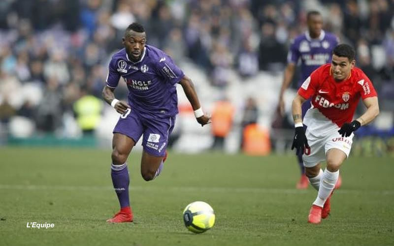 Steeve Yago RC Lens Toulouse FC