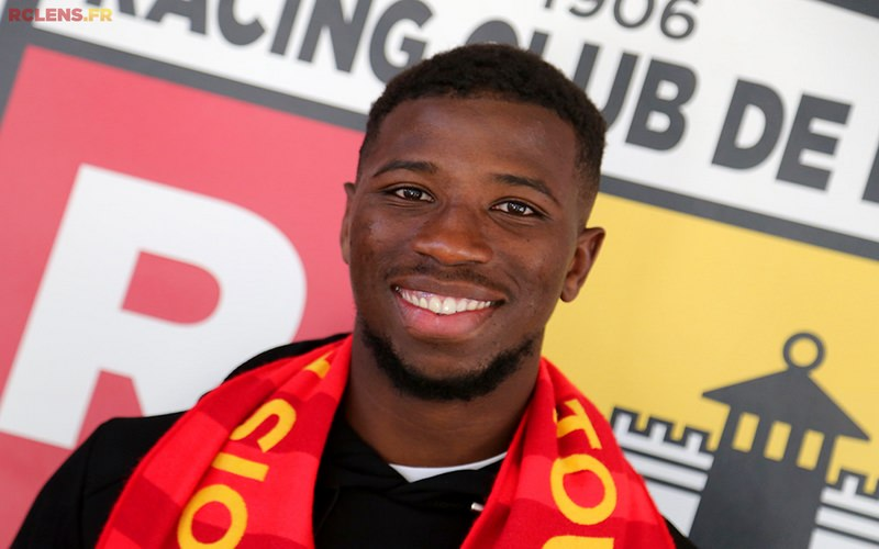 Cheick Traore RC Lens 01