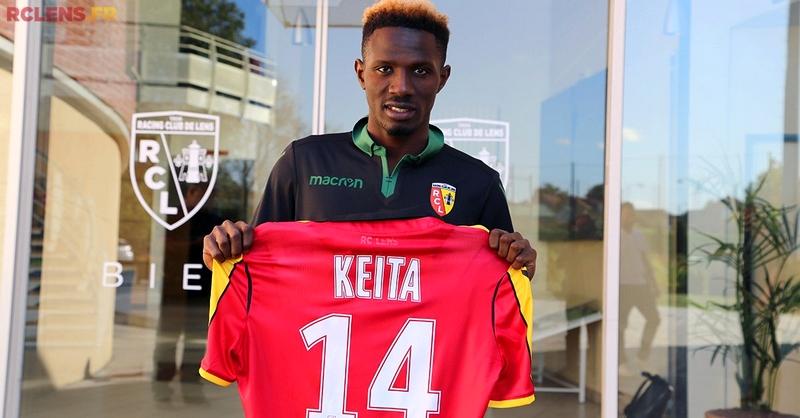 Jules Keita RC Lens 1
