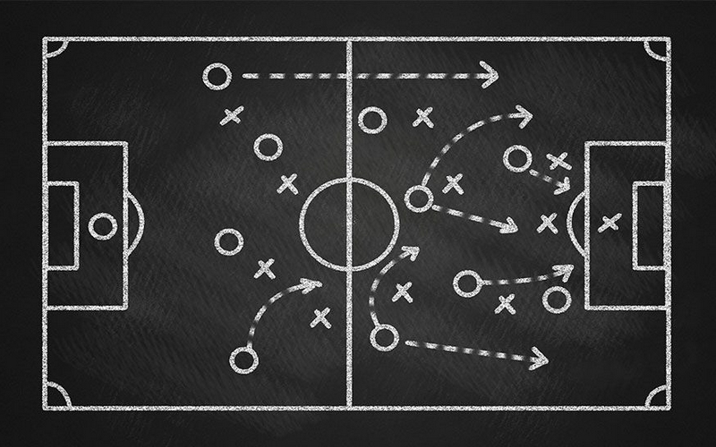 Football Tactique Chalk