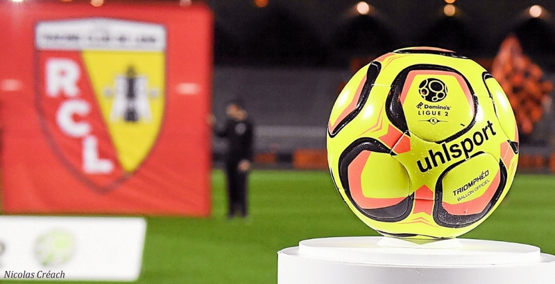 Ligue2 Ballon RC Lens
