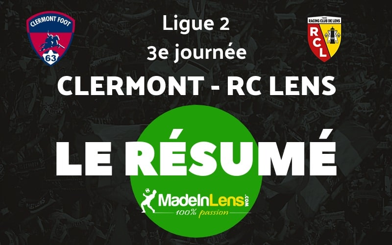03 Clermont Foot RC Lens resume