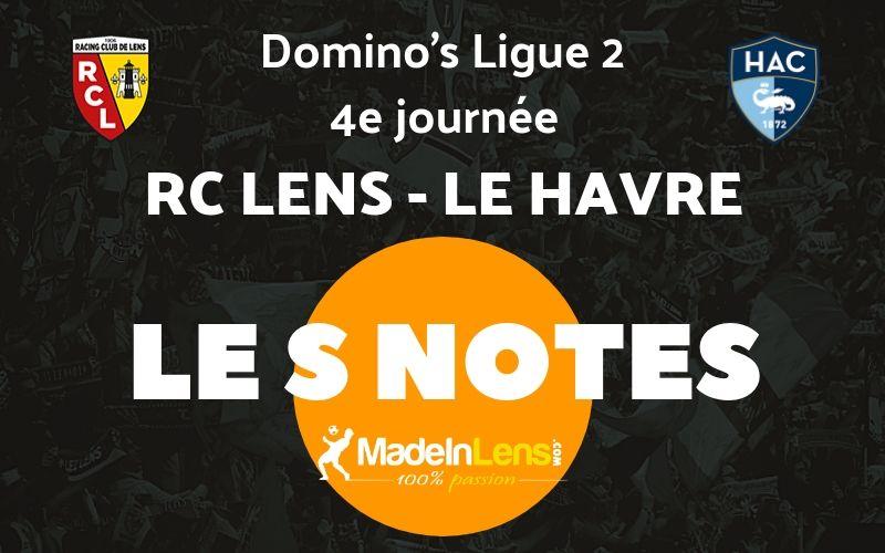 04 RC Lens Le Havre Notes