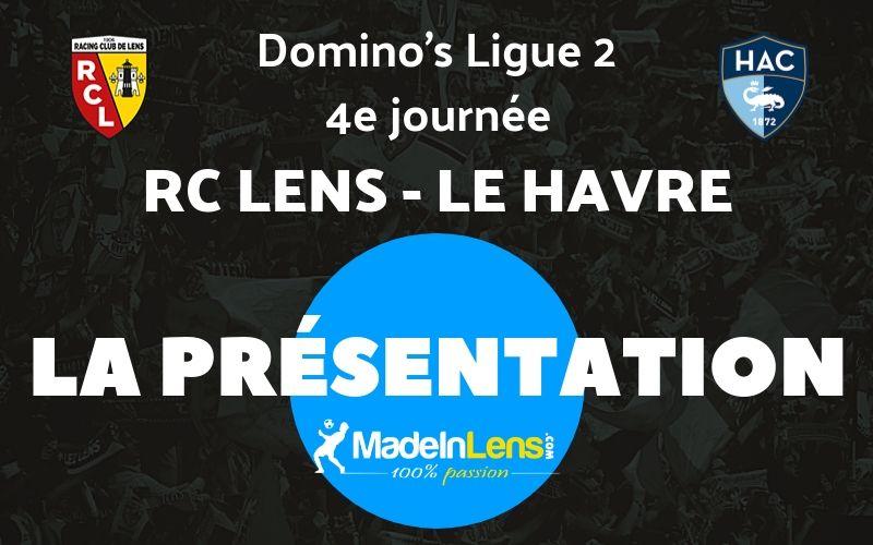 04 RC Lens Le Havre Presentation