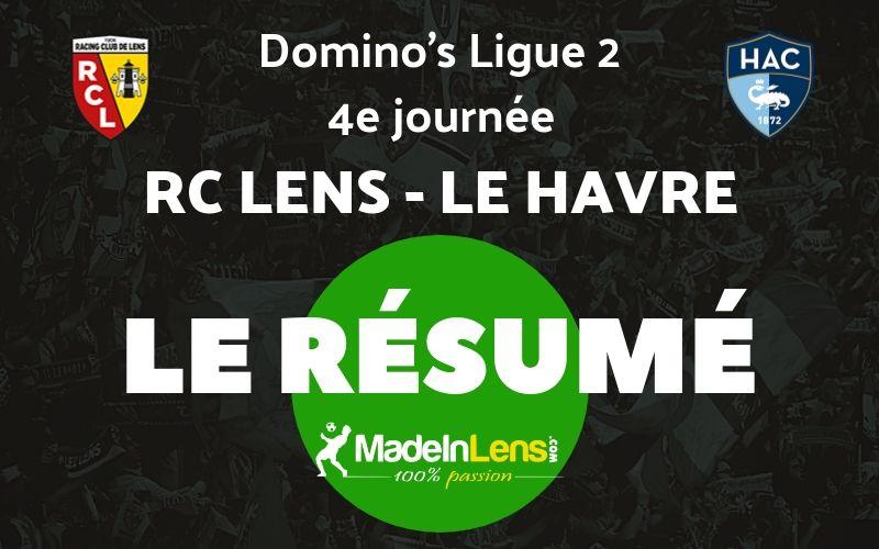 04 RC Lens Le Havre Resume