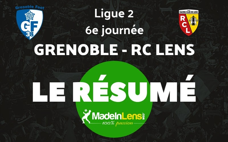 06 Grenoble GF38 RC Lens resume