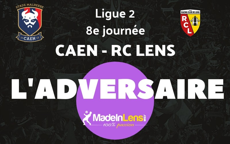 08 Caen Stade Malherbe RC Lens adversaire