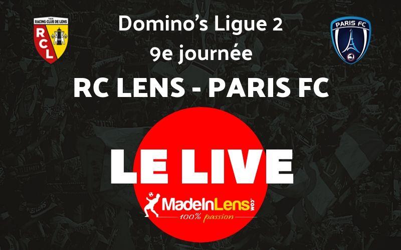 09 RC Lens Paris FC Live