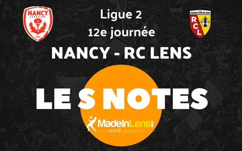 12 AS Nancy Lorraine RC Lens notes