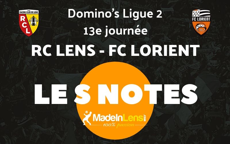 13 RC Lens FC Lorient Notes