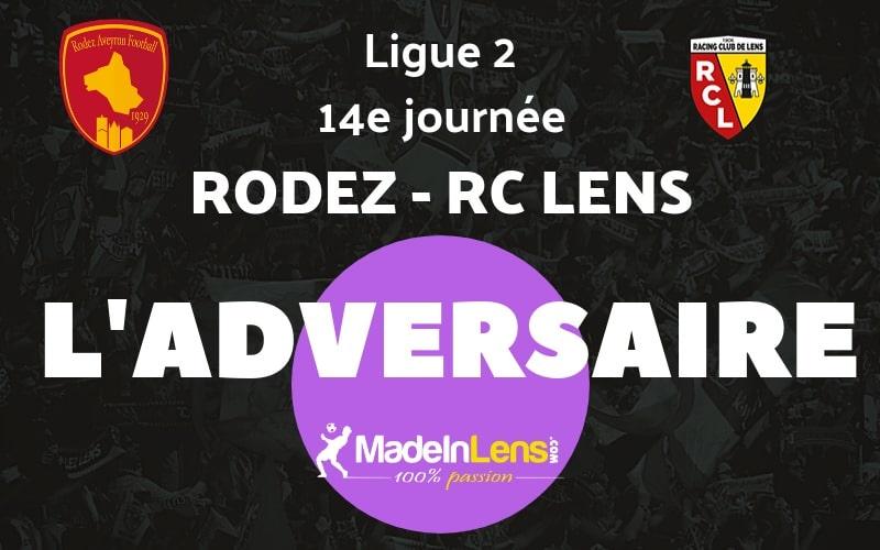 14 Rodez Aveyron Football RC Lens adversaire