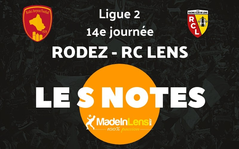 14 Rodez Aveyron Football RC Lens notes