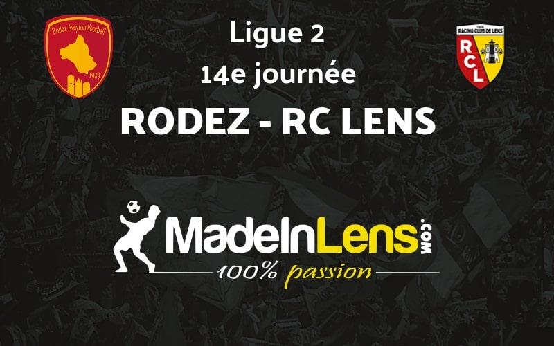 14 Rodez Aveyron Football RC Lens