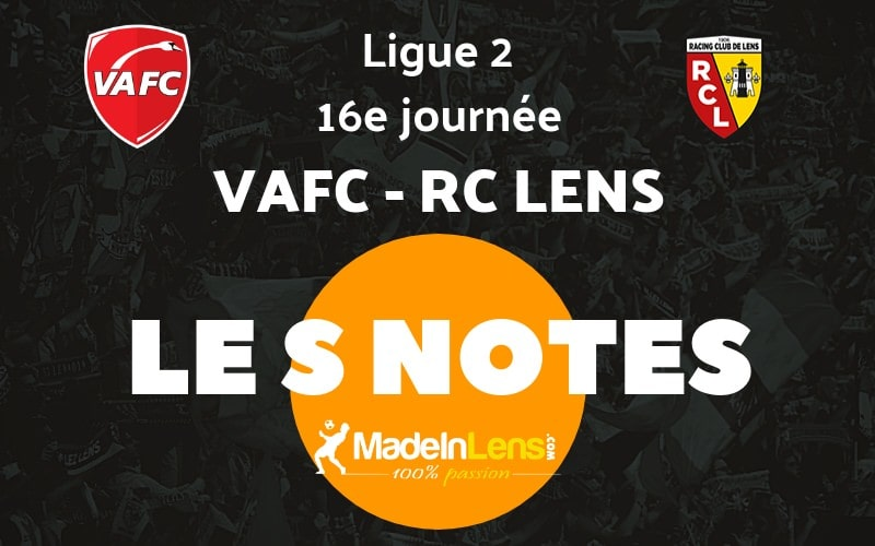 16 Valenciennes VAFC RC Lens notes