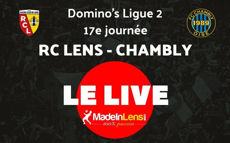 17 RC Lens Chambly Live