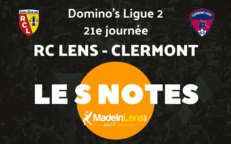 21 RC Lens Clermont Notes
