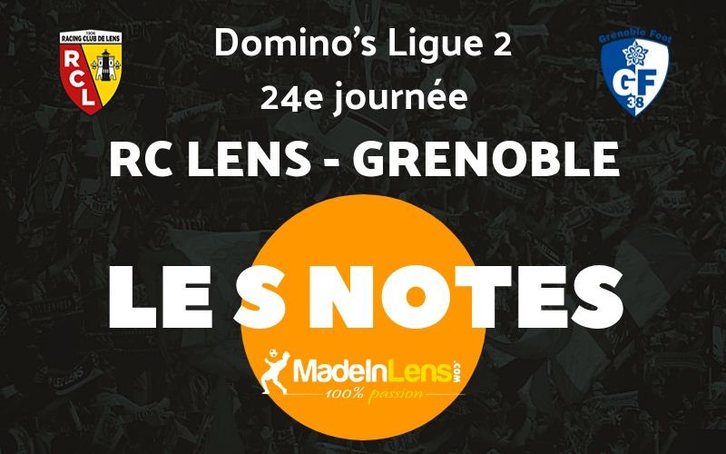 24 RC Lens Grenoble Notes