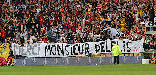 Hommage Andre Delelis RC Lens AS Monaco